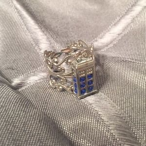 Dr Who Tardis Ring